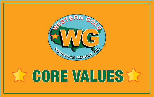 Western Gold Core Values